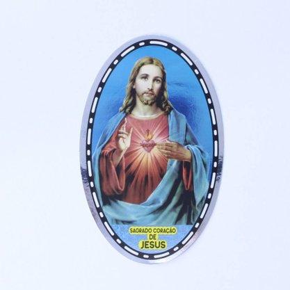 Adesivo Dupla Face - Coração de Jesus