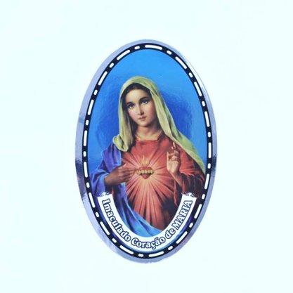 Adesivo Dupla Face - Coração de Maria