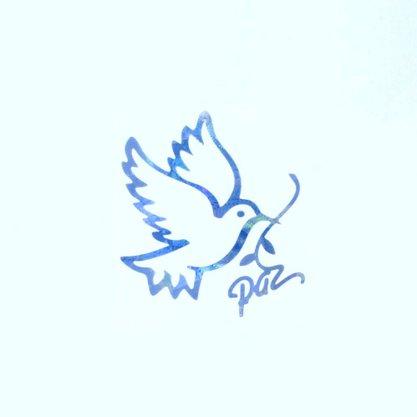 Adesivo Pomba da Paz