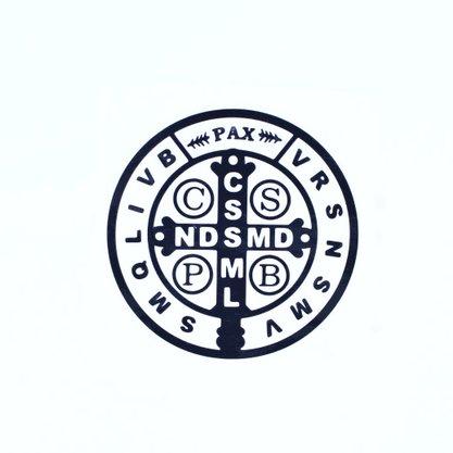 Adesivo São Bento - Preto Médio