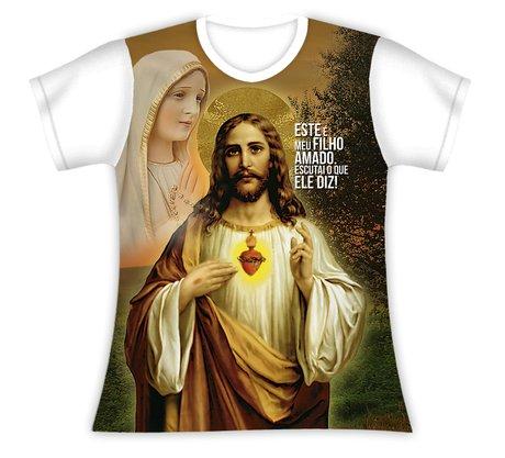 Baby Look Jesus Filho Amado Escuta o que Ele Diz