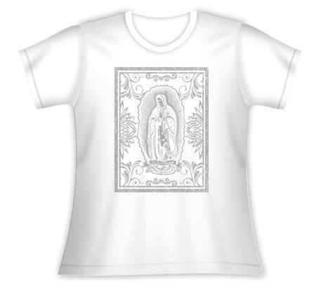 Baby Look Nossa Senhora de Guadalupe