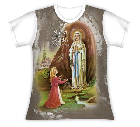 Baby Look Nossa Senhora de Lourdes