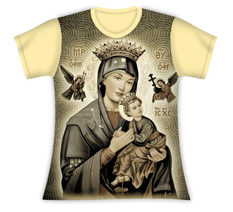 Baby Look Nossa Senhora do Perpétuo Socorro