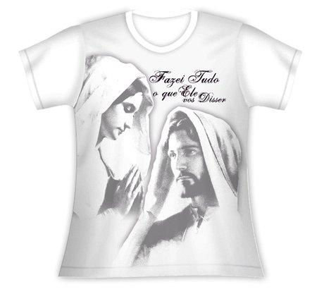 Baby Look Nossa Senhora do Silêncio e Jesus
