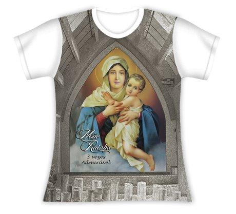 Baby Look Nossa Senhora Mãe Rainha