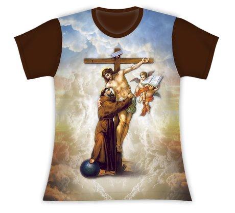 Baby Look São Francisco de Assis e Jesus