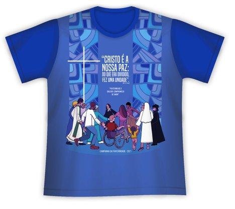 Camiseta Campanha da Fraternidade 2021