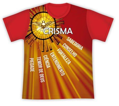 Camiseta Crisma Sete Dons do Espírito Santo