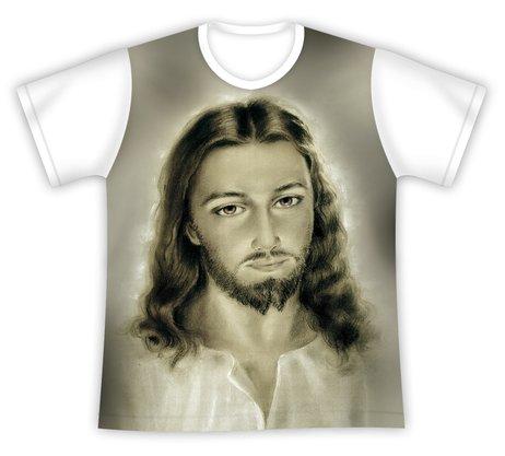 Camiseta Face de Jesus Cristo