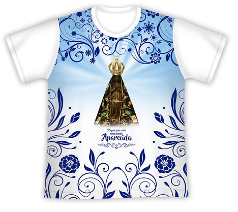 Camiseta Infantil Nossa Senhora Aparecida