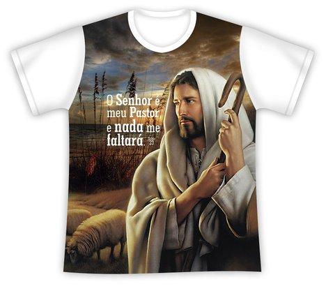 Camiseta Jesus bom Pastor