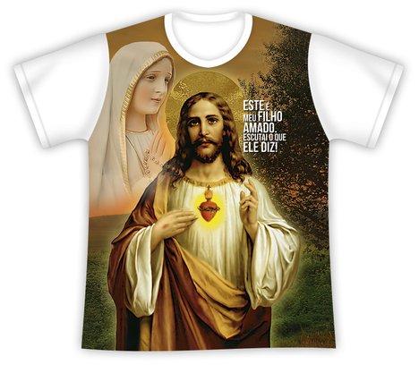 Camiseta Jesus Filho Amado Escuta o que Ele Diz