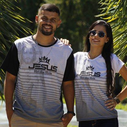 Camiseta Jesus Rei dos reis