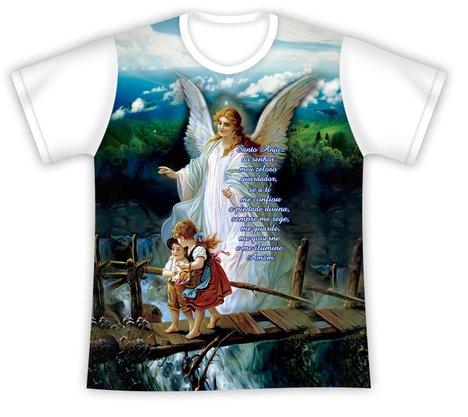 Camiseta Juvenil Anjo da Guarda