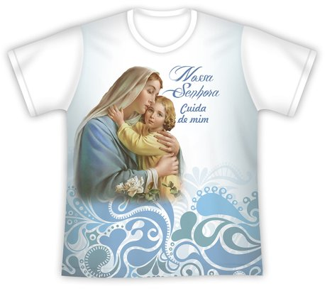Camiseta Juvenil Mãe da Ternura