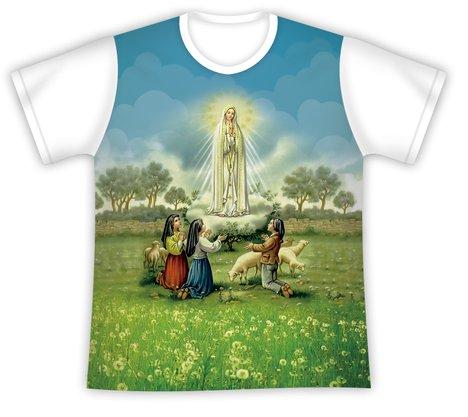 Camiseta Juvenil Nossa Senhora de Fátima