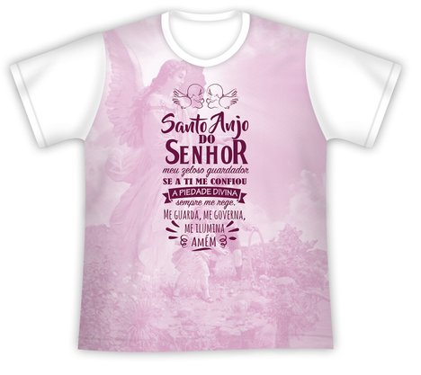 Camiseta Juvenil Santo Anjo do Senhor