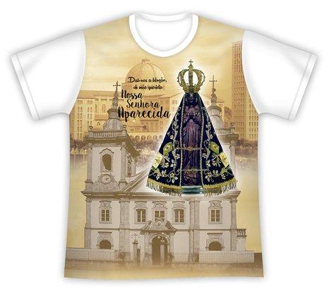 Camiseta Nossa Senhora Aparecida Mãe Querida