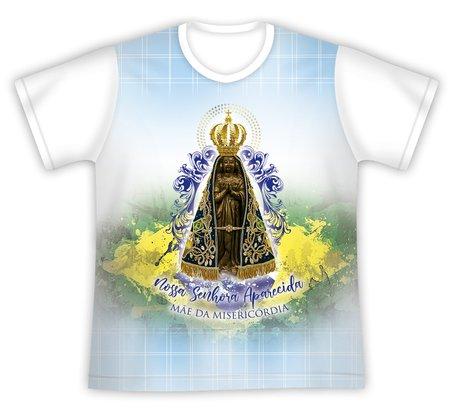 Camiseta Nossa Senhora Aparecida Mãe da Misericórdia