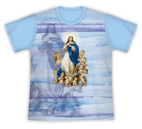 Camiseta Nossa Senhora da Conceição Azul