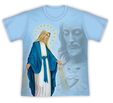 Camiseta Nossa Senhora das Graças com Jesus
