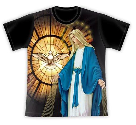 Camiseta Nossa Senhora das Graças e Espírito Santo