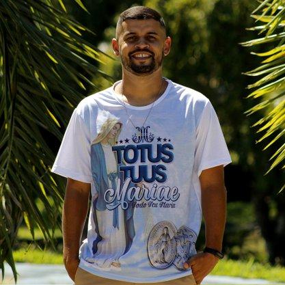 Camiseta Nossa Senhora das Graças Totus Tuus