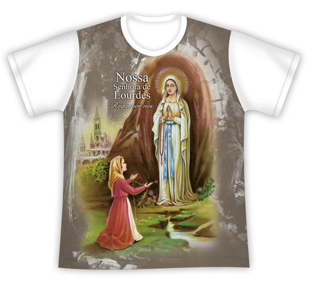 Camiseta Nossa Senhora de Lourdes
