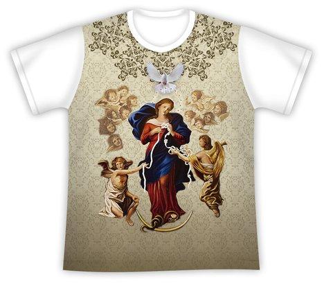 Camiseta Nossa Senhora Desatadora de Nós