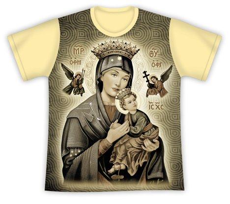 Camiseta Nossa Senhora do Perpétuo Socorro