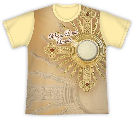 Camiseta Ostensório Nosso Deus Amado
