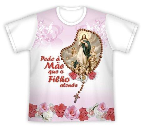 Camiseta Pede a Mãe Nossa Senhora da Conceição