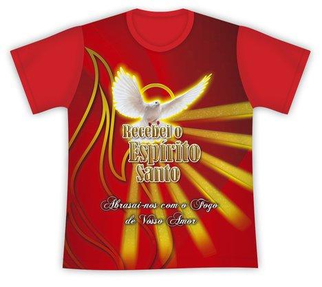 Camiseta Recebei o Espírito Santo