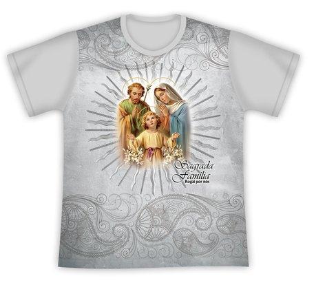 Camiseta Sagrada Família Rogai por nós