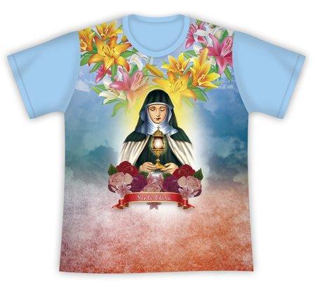 Camiseta Santa Clara Floral