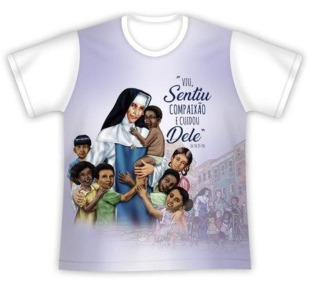 Camiseta Santa Dulce dos Pobres Compaixão