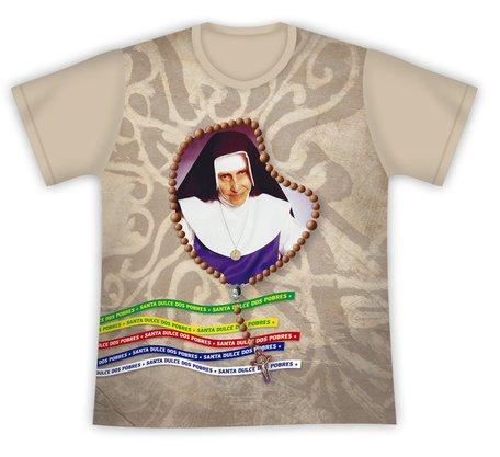 Camiseta Santa Dulce dos Pobres Terço
