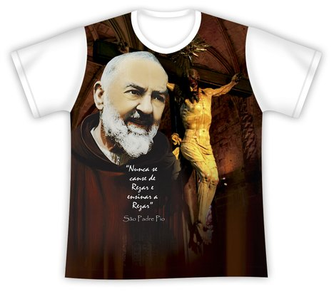Camiseta São Padre Pio