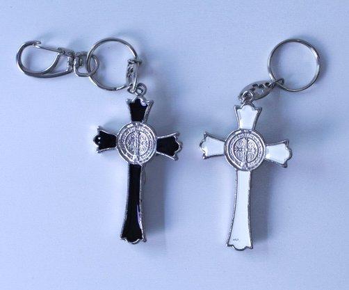 Chaveiro Crucifixo São Bento