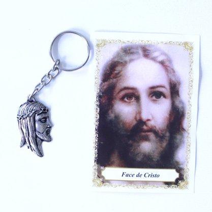 Chaveiro Face de Cristo