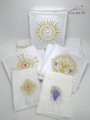 Conjunto De Alfaias Para Altar