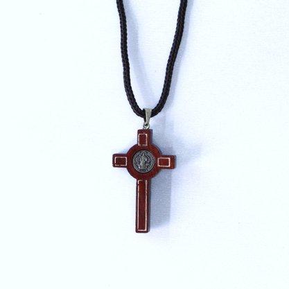 Cordão Cruz São Bento - pequeno