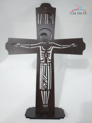 Cruz MDF Vazada - Grande