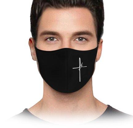 Máscara Fé preta