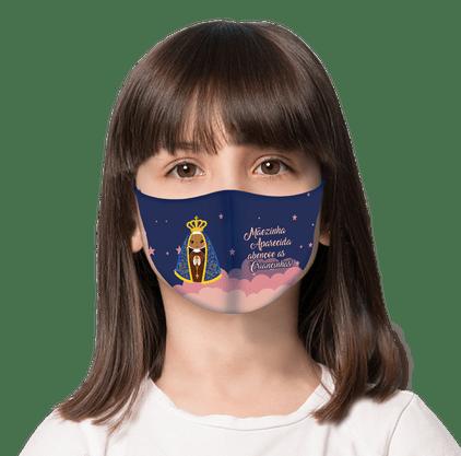 Máscara Infantil Mãezinha Aparecida