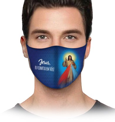 Máscara Jesus Misericordioso