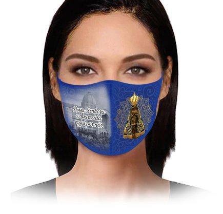 Máscara Nossa Senhora Aparecida Rogai por nós