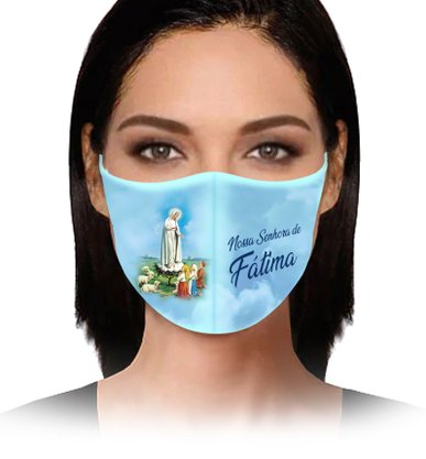 Máscara Nossa Senhora de Fátima