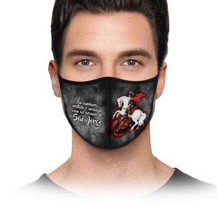 Máscara São Jorge